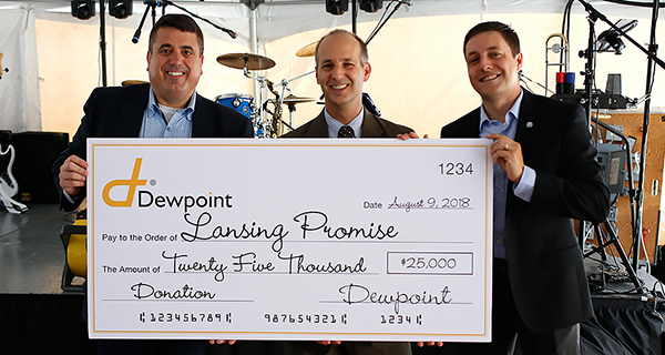 $25,000 Donation To The Lansing Promise Foundation